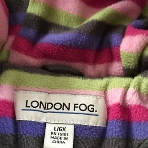 Girls Size 6X London Fog Jacket - Like New